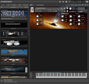 Beyond Infinity 27,3 MB ( Synth , Pad , Metal ) ( 32 Bits )