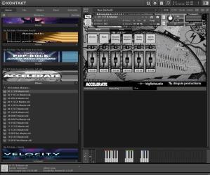 Big Fish Audio Accelerate Alternative and Indie Rock 2,36 Gb ( Bateria Guitarra )