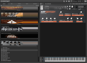 Binary Music ARP Odyssey 781,5 MB ( Synth ) ( 32 Bits )