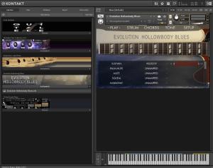 Evolution Hollowbody Blues 5,11GB ( Guitarra ) ( 64 Bits )