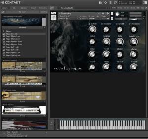 Force Sampling Vocal Scapes 2,25 GB ( Vocal , Vozes ) ( 64 Bits )