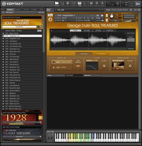 George Duke Soul Treasures 3,84 GB ( Pianos , Rhodes ) ( 32 Bits )