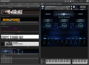 Gothic Instruments SCULPTOR Massive Whooshes 12,07 Gb ( Efeitos ) ( 64 Bits )