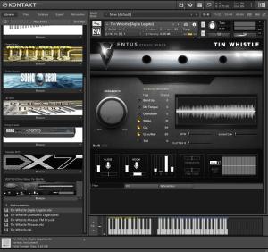 Impact Soundworks - VENTUS Ethnic Winds Tin Whistle 5,33 GB ( Flauta Asiatica ) ( 32 Bits )