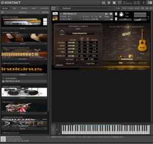 Indiginus Acoustic Guitar Collection Remix 69,9 MB ( Violão ) ( 32 Bits )