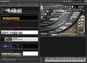 Kirk Hunter Studios Concert Strings 2 19,08 GB ( Cordas ) ( 64 Bits )