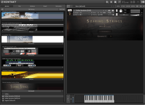 Musical Sampling Soaring Strings 4,34 GB ( Cordas ) ( 64 Bits )