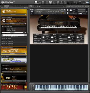 New York Concert Grand 2,91 GB ( Piano ) ( 32 Bits )