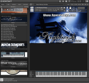 Nightwish Pack Collection 3,75 GB ( Piano Digital , Cordas, Bells , Pads ) ( 32 Bits )