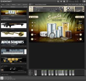Samba Drums 732,6 MB ( Percução )
