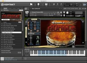Sample Logic Rumble 4,96 GB ( loop Eletronico )