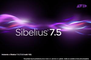 Sibelius 7.5