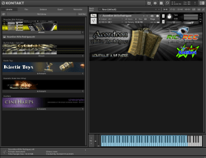 Accordion Atilio Rodriguez 16,2 MB ( Acordeon ) ( 64 Bits ) ( kontakt 5.6.8 )