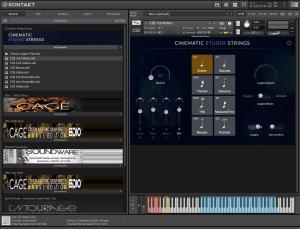 Cinematic Studio Strings 34,48 GB ( Cordas ) ( 64 Bits )