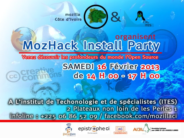 MozHack Install Party