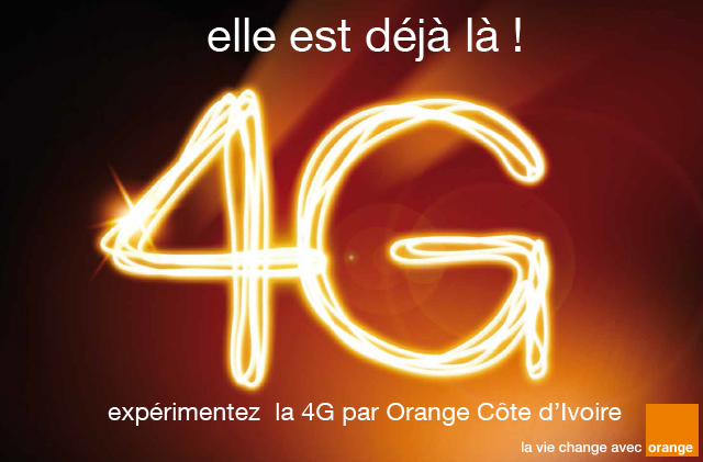 La 4G Orange Côte d'Ivoire est là