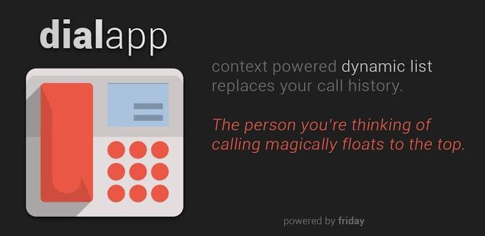 DialApp : Je sais qui tu veux appeler