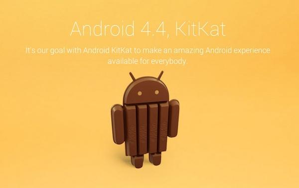 La prochaine version d'Android sera nommé KitKat