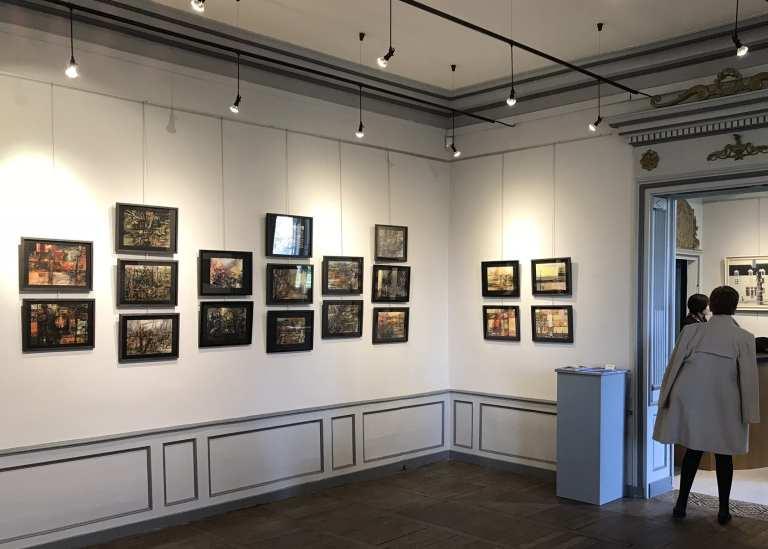 """2018 – Exposition """"Multiples présences"""" au musée de Mer"""