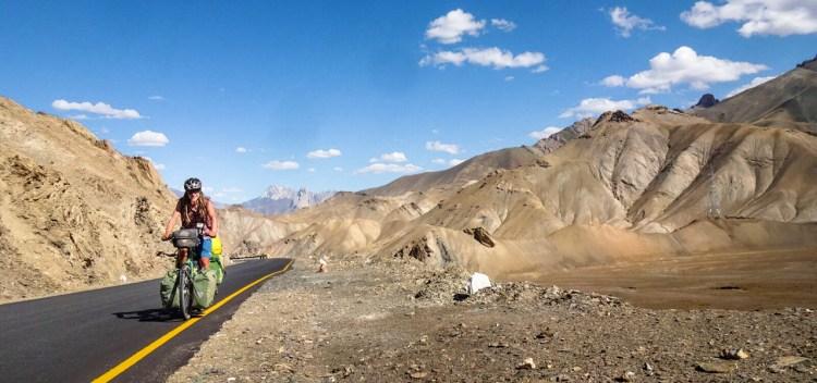 Srinagar-Leh-Highway in Indien