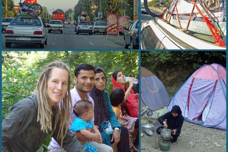 Eine iranische Familie lud mich ein, mit ihnen zwei Tage ihrer Ferien zu verbringen.
