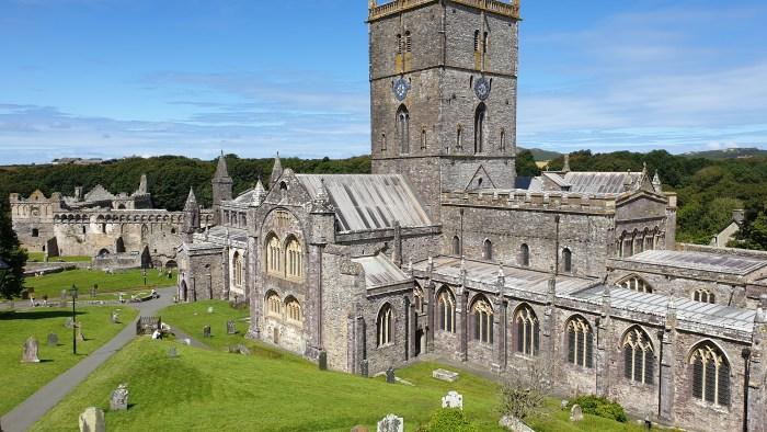 St David's Cathedral, St David's, Pembrokeshire, Wales