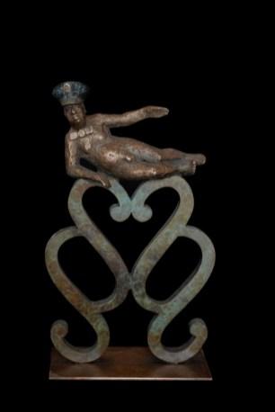 Herzhaft, 2010, Bronze, H 31 cm