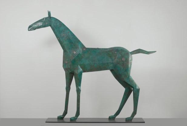 Ausgezeichnetes Pferd, 2011, Bronze, H 135 L 160 cm