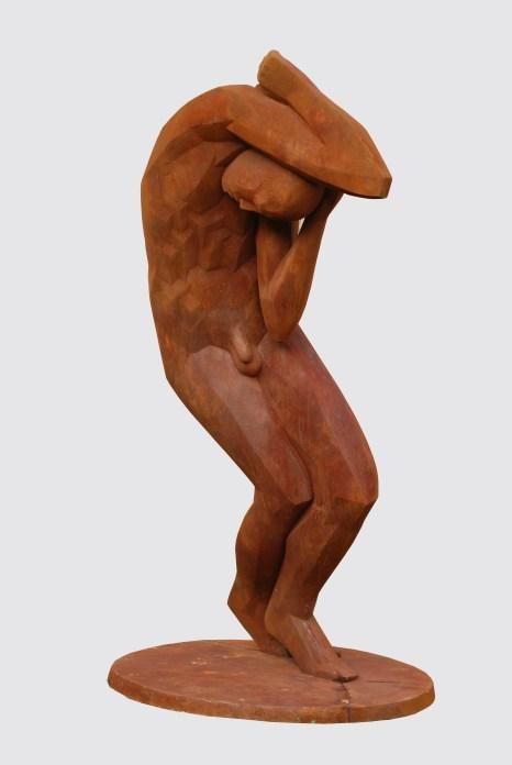Stürzender, 2008, Polymergips, H 230 cm