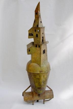 Traumturm, 1992, Bronze, H 84 cm