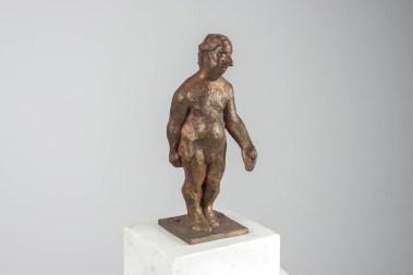 Enttäuschter, Bronze, 2004, H 17,5 cm