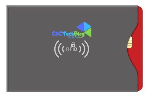 Schermatura RFid, contactless