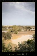 I campi ancora allagati dopo 3 giorni.The fields still flooded after 3 days,
