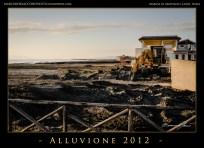 Escavatore sulla spiaggia.Digger on the beach