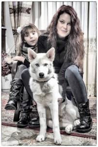 Francesca, Aurora e Nanouk