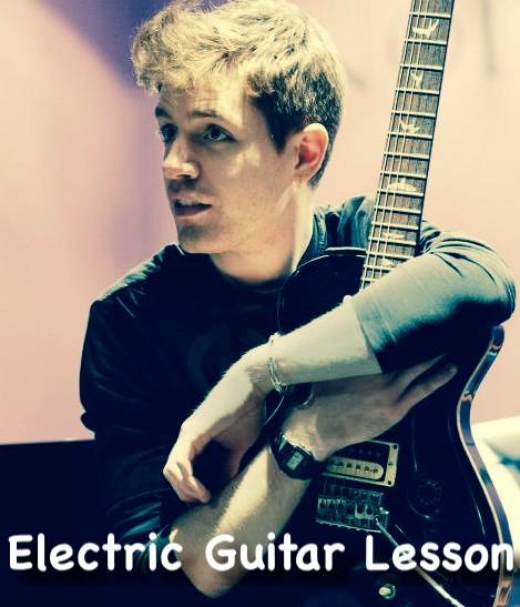 Electric Guitar Lesson in London Kilburn Central London Kensington Beginners Med Advance Electric Guitar Lesson