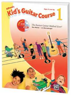 Alfred's Kid's Guitar Course - 1 - 2 Guitar Lesson for Kids in London with Marco Cirillo