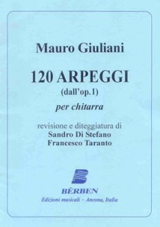 Giuliani 120 Arpeggi - London Guitar Lesson - Classical Guitar Lesson in London with Marco Cirillo