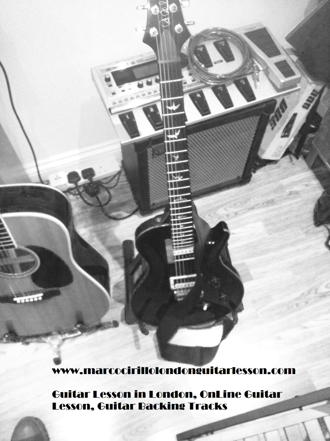 Guitar Lesson North West London - Guitar Lesson Central London - London Guitar Teacher.
