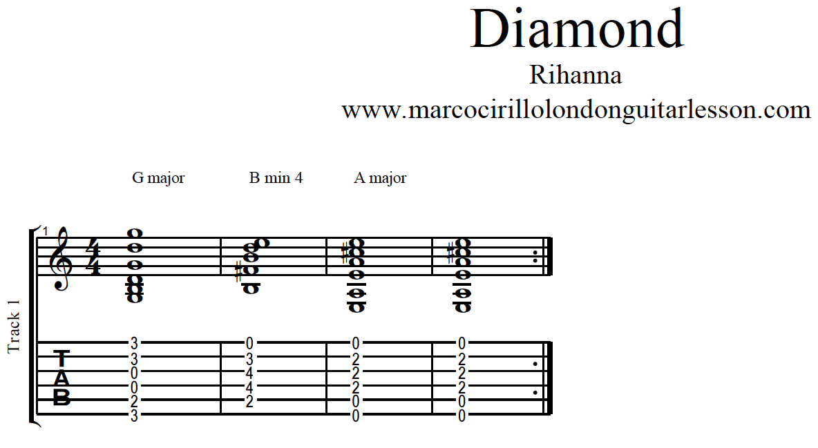 Diamonds Chords Rihanna Related Keywords & Suggestions