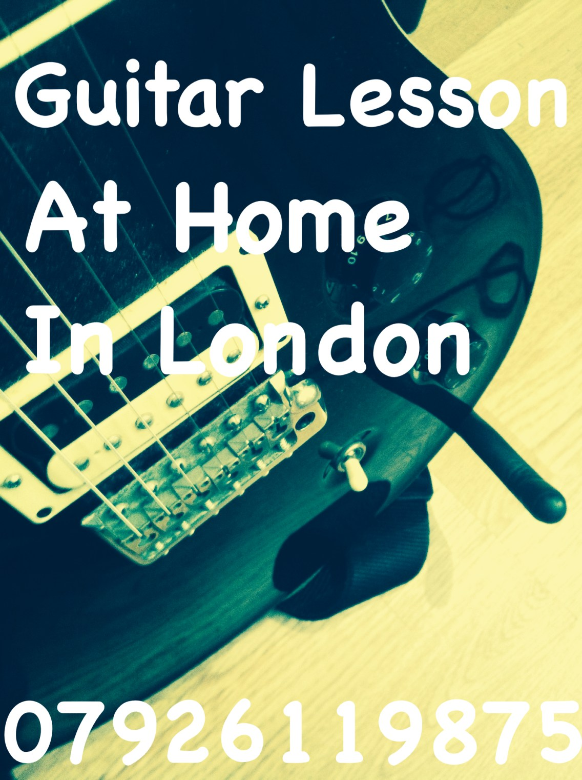 London Guitar Lesson - Guitar Lesson Home in London - Marco Cirillo Guitar Lesson Home