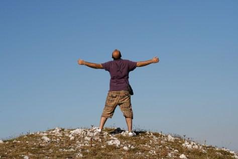 L'uomo sulla montagna di Enea Francia