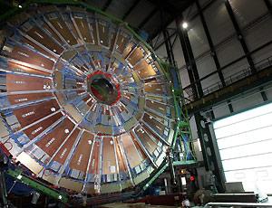 Una foto della macchina del Cern (presa da internet)
