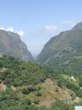 il confine con il Chiapas