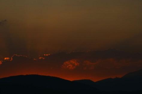 """""""Cielo Rosso"""" di Enea Francia"""