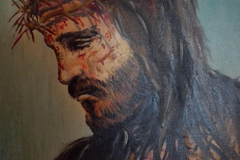 Passione di Cristo, acrilico