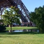 La natura ai piedi della Tour Eiffel