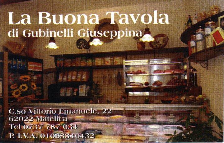 Pagina contatti Buona Tavola