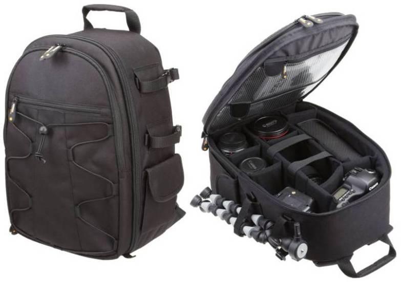 09d7267317 AmazonBasics – Zaino per fotocamera SLR + accessori