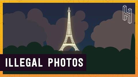 Ecco perché le foto della Torre Eiffel di notte sono illegali